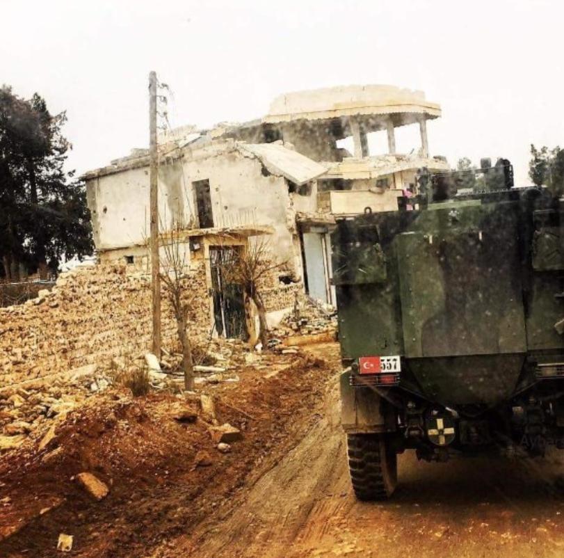 El Bab'da son durum