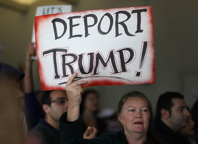 Trump'ın kararının ardından ABD'de protestolar