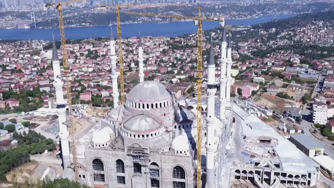 Çamlıca Camii BBC belgeselinde