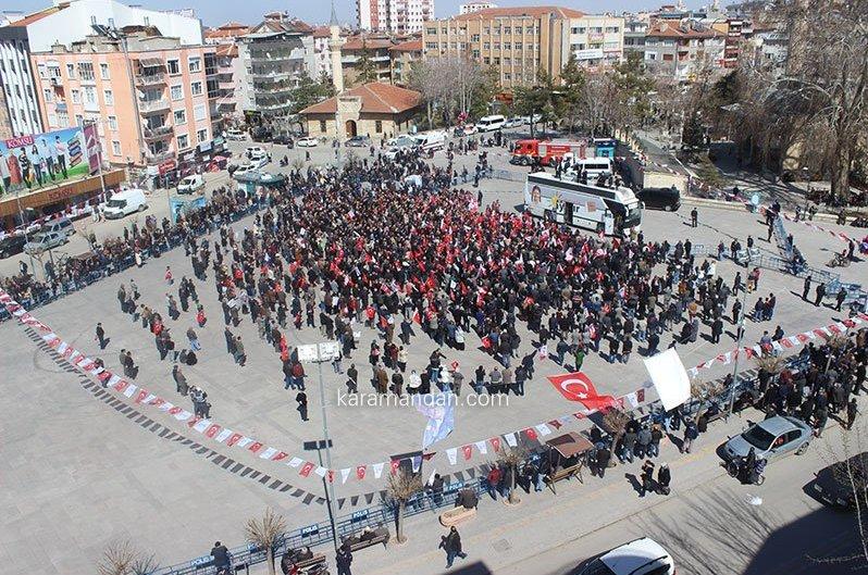 CHP'li Muharrem İnce boş meydana konuştu