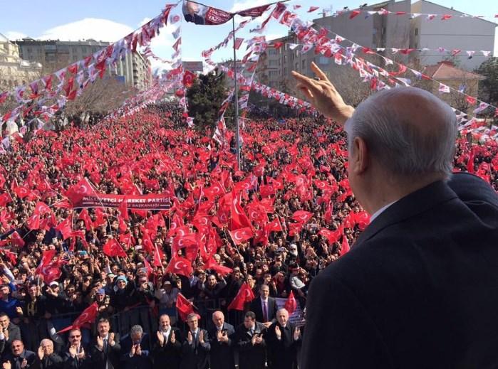 Devlet Bahçeli Erzurum'da konuştu