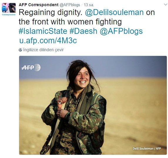 Fransızlar PKK güzellemesi yapıyor