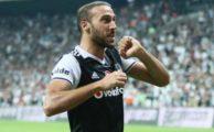 Cenk Tosun, Beşiktaş Konyaspor maçına attığı gollerle damga vurdu