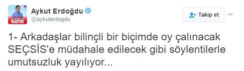 CHP'li Aykut Erdoğdu'dan asılsız iddialar