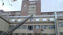Devlet hastanesinde silahlı saldırı paniği