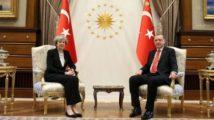 Erdoğan ve May'den ortak basın toplantısı