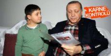 Cumhurbaşkanı Erdoğan 15 Temmuz gazisinin ailesini ziyaret etti