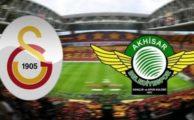 Galatasaray 0-0 Akhisar (İlk yarı canlı)