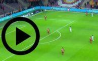 Galatasaray 6-0 Akhisar maçı golleri