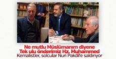 Hulusi Akar ve Hakan Fidan Nuri Pakdil'i ziyaret etti