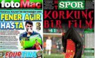 Kayserispor Fenerbahçe gazete manşetleri, gazete haberleri