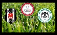 Lig TV bein sports canlı izle Beşiktaş Konyaspor
