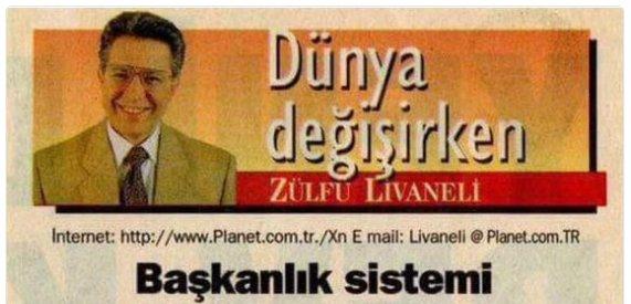 Livaneli başkanlığı öven yazısına açıklama getirdi