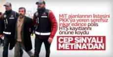 PKK'ya bilgi sızdıran FETÖ'cü Cemal Bulut'un ifadesi