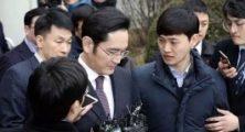 Samsung'un Patronu Tutuklama Kararını Bekliyor!