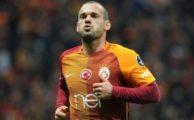 Sneijder'den sürpriz gönderme!
