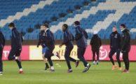 Trabzonspor, Şenol Güneş Stadı'nda ilk antrenmanını yaptı