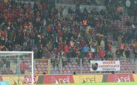 TT Arena'da Aziz Yıldırım'a tepki