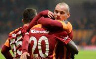 Wesley Sneijder asist sayısında rekora koşuyor