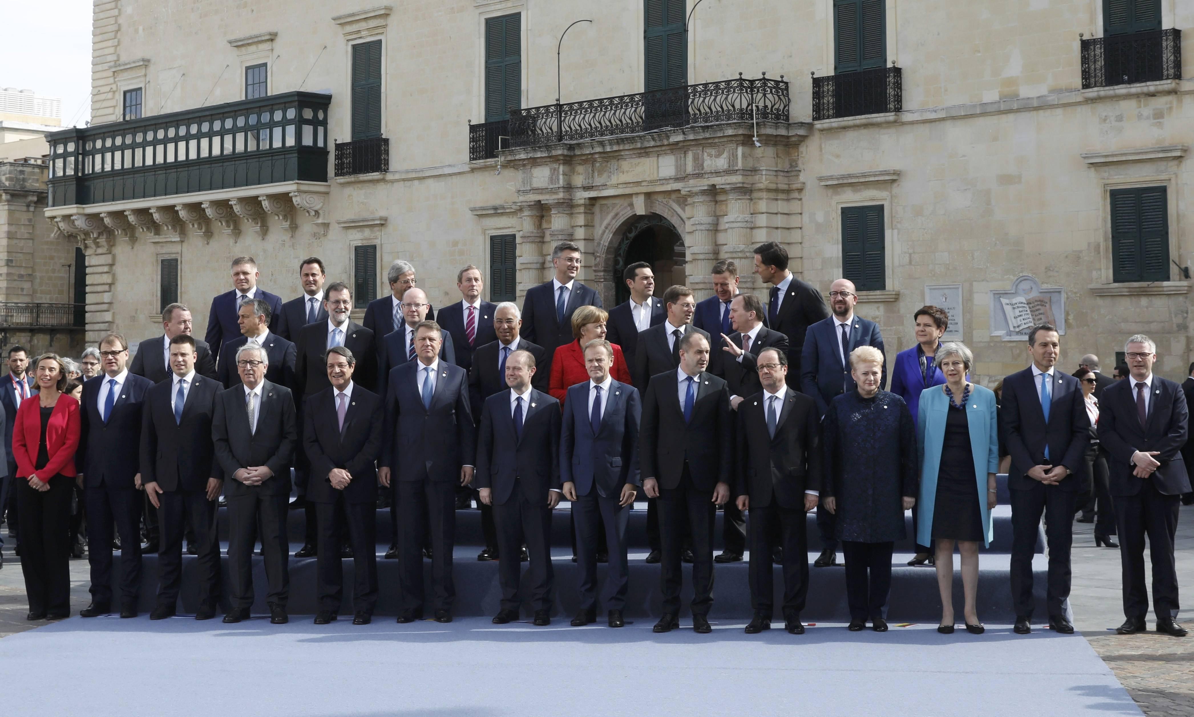 AB liderlerinin Malta'daki gayriresmi zirvesi başladı