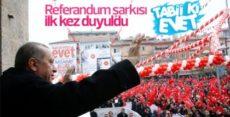 AK Parti'nin referandum şarkısı: TABİİ Kİ EVET