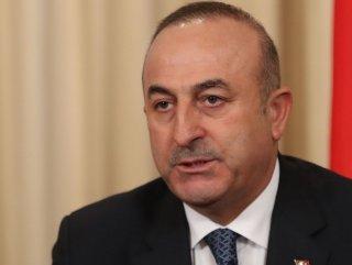 Dışişleri Bakan Çavuşoğlu'ndan Rum lidere tepki