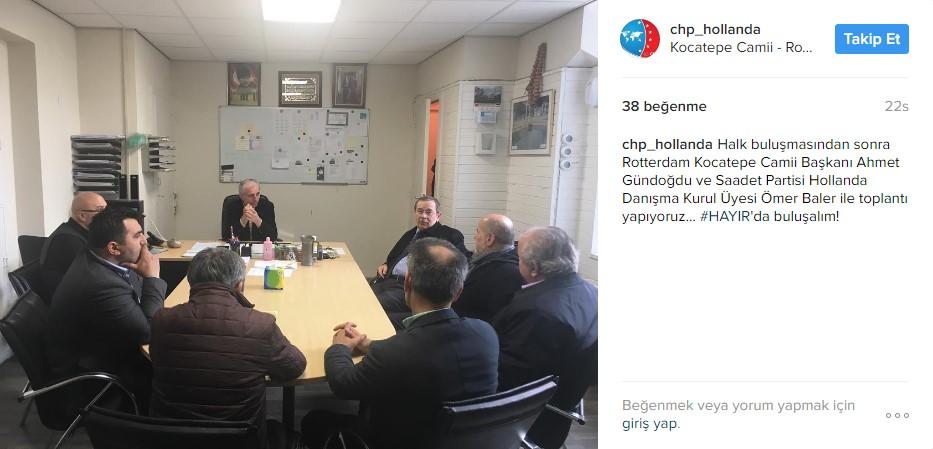Abdüllatif Şener CHP için çalışıyor
