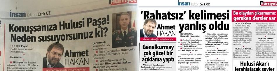 Ahmet Hakan'dan dönek eleştirilerine yanıt geldi