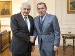 Başbakan Binali Yıldırım Dursun Özbek'i kabul etti