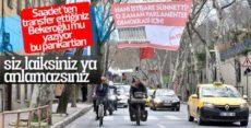 CHP'nin afişlerinde sağ oylara mesaj var