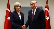 Erdoğan'dan İngiltere Başbakanı'na telefon