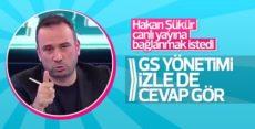 Ertem Şener'den Hakan Şükür'e: Hainler yayına bağlanamaz