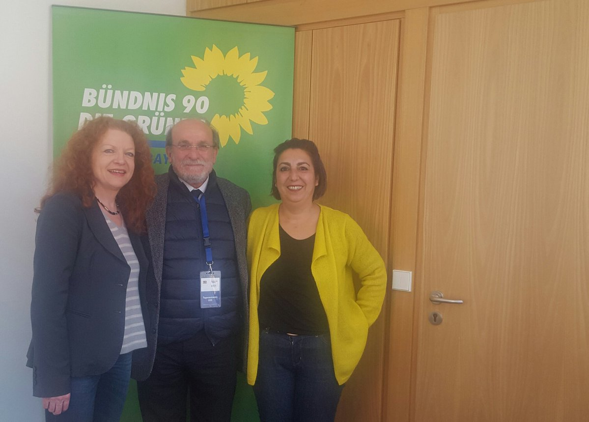 HDP'li Kürkçü'den Alman vekillere ziyaret