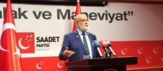 Karamollaoğlu'ndan Erdoğan'ın çadır ziyaretine yorum