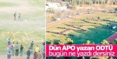 ODTÜ'de 'hayır' propagandası