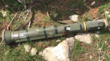 PKK'lı teröristten yeni nesil İsveç tanksavarı çıktı