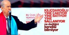 Devlet Bahçeli: Kılıçdaroğlu yine sallanıyor