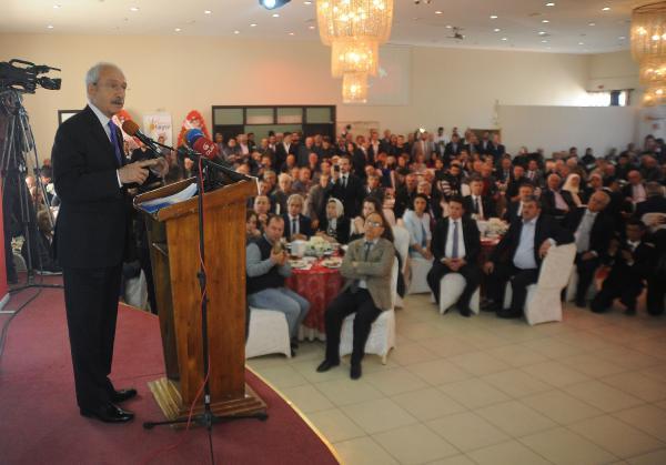 Kılıçdaroğlu Bursa'da konuştu