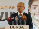 Kılıçdaroğlu'ndan referandum açıklamaları