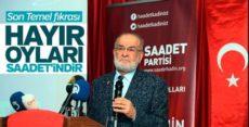 Temel Karamollaoğlu'ndan 'hayır' iddiası